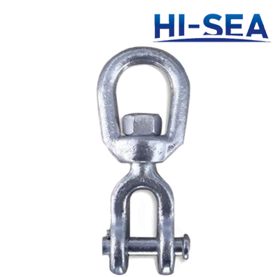 Galvanized Carbon Steel Jaw End Swivel