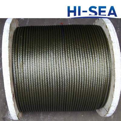 Ungalvanized and Galvanized Steel Wire Rope 6��19