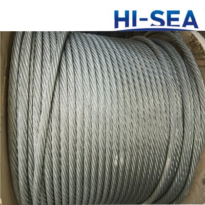 Ungalvanized and Galvanized Steel Wire Rope 6��37