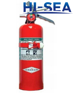 Halon 1211 fire extinguisher