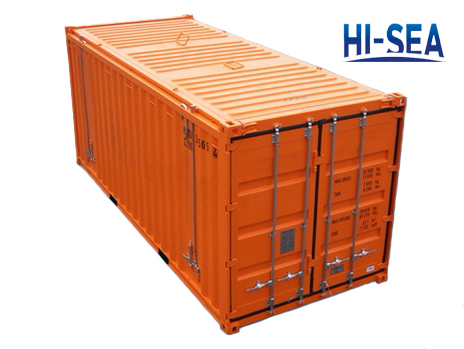 Hard Open Top Container