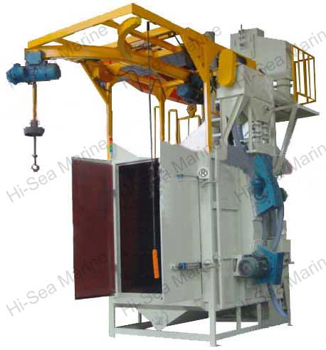 Hook Type Shot Blasting Processor