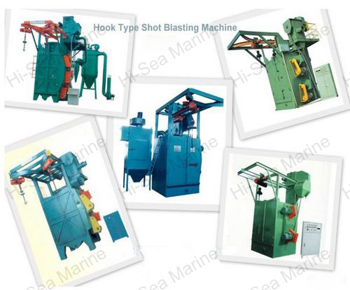 Hook Airless Blast Cleaning Machine