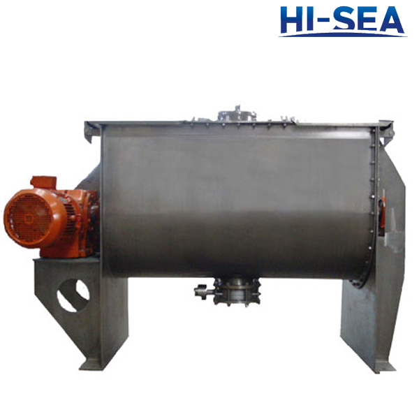 Horizontal Powder Ribbon Mixer