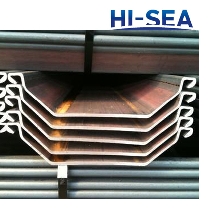 600*150 Hot Rolled Steel Sheet Pile