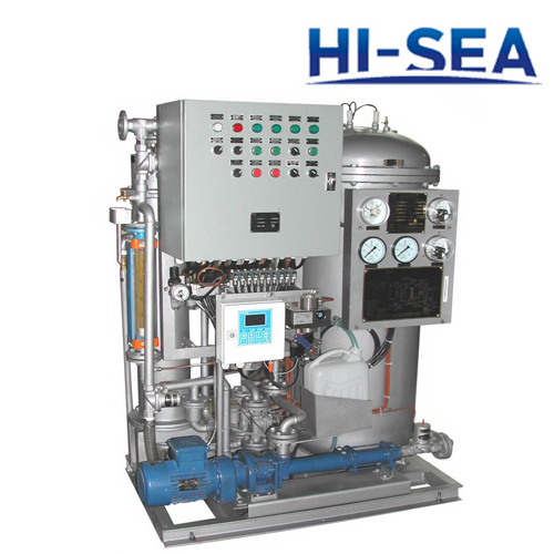 0.50m3/h Rated Capacity Marine Oil Water Separator