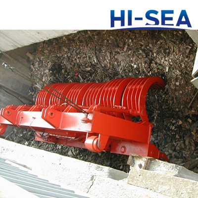 Motor Hydraulic Rectangle Garbage Grab