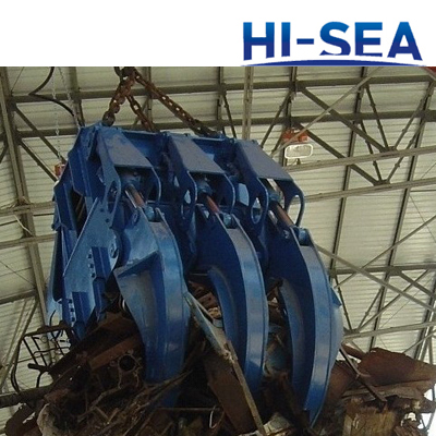 Motor Hydraulic Rectangle Steel Scrap Grab