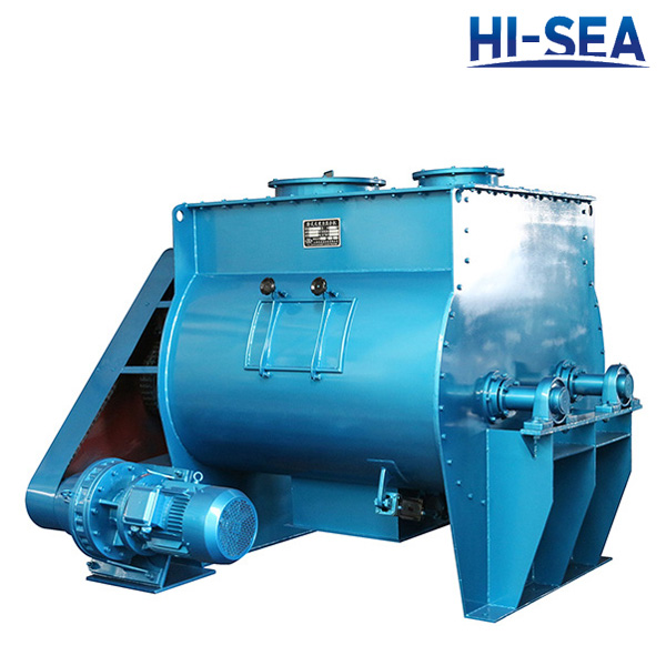 Horizontal Non-gravity powder mixer