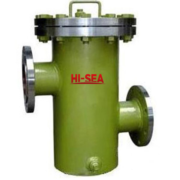 High-Low Nozzle Basket Filter