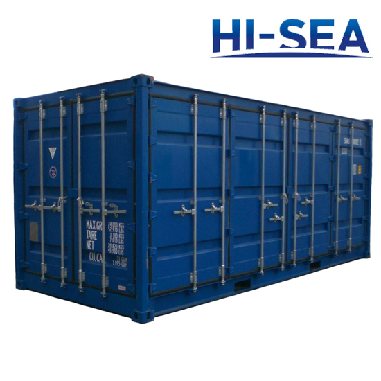 Open Side Container