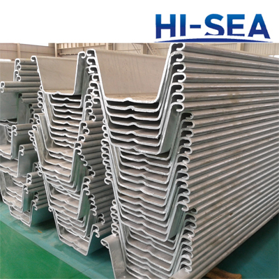 Z Type Cold Formed Steel Sheet Pile Supplier, China Steel