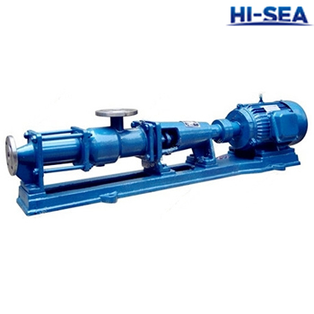 G Marine Mono Screw Pump