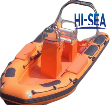 Rigid Inflatable Boat for Rescue