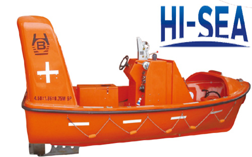 Rigid Rescue Boat With Inboard Engine