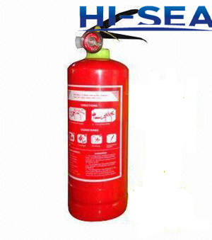 Small car fire extinguisher