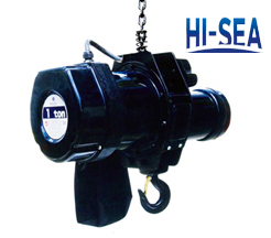 Staged Used Electric Chain Hoist