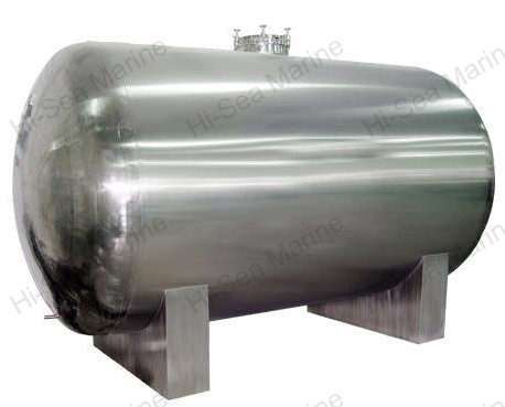 Stainless Steel Horizontal Oil Pressure Tank