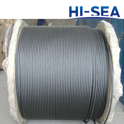 Ungalvanized and Galvanized Steel Wire Rope 6��24