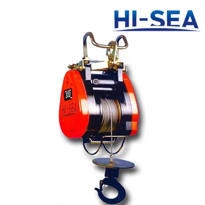Suspension Type Mini Electric Wire Rope Hoist