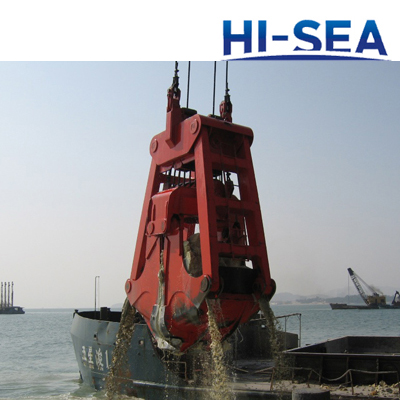 Underwater Four Ropes Dredging Grab
