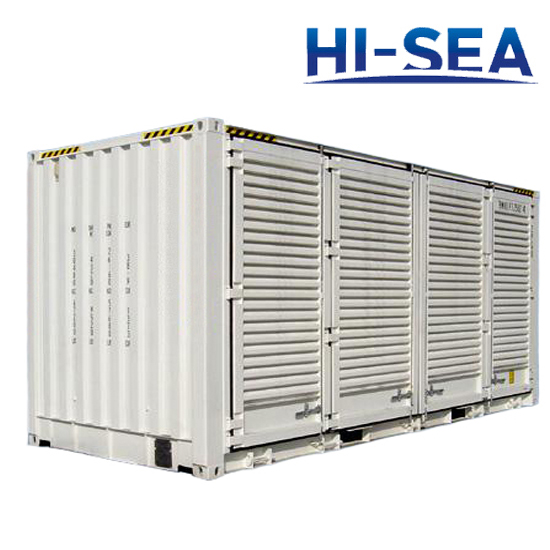 Ventilated Shipping Container