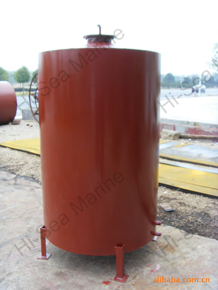 Vertical Oil Storage Vessel