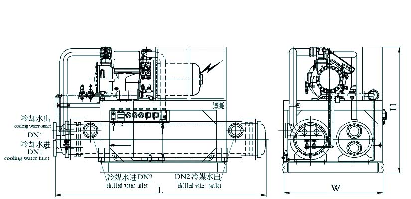cls marine water chiller supplier  china marine air